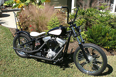 Custom Built Motorcycles : Bobber Bare Bonez Bike