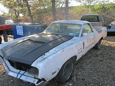 Ford : Ranchero ford 1970 ford ranchero 302 hurst four speed gt hood comes with pair new quarters 70