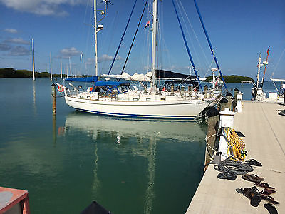 Whitby 42 - Staysail Ketch in Good Condition