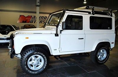Land Rover : Defender 1997 defender 90 63 only 45 947 miles amazing condition lots of extras