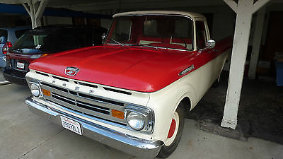Ford : F-100 f-100 Ford F-100 long bed truck