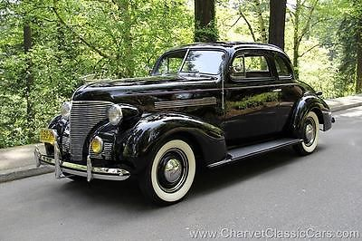Chevrolet : Other Master 85 Business Coupe 1939 chevrolet master 85 business coupe excellent see video