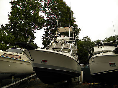 1988 Phoenix 270 Fishbuster Awesome Offshore Crusader 5.7 FWC, Tuna Tower!