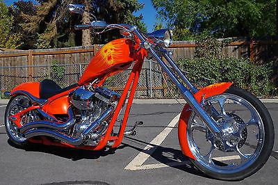 Big Dog : K9 2007 big dog k 9 k 9 custom softail chopper motorcycle low low 9 338 miles orange
