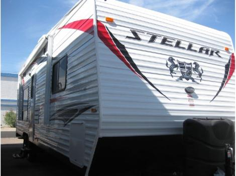 2015 Eclipse Recreational Vehicles Stellar 25FB with walk around queed bed