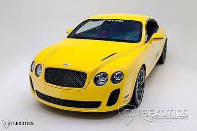 Bentley : Continental GT Continental GT Supersports RARE Medore Yellow Low Miles Twin-Turbo 620HP