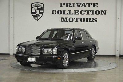 Bentley : Arnage 2000 bentley arnage red label low miles clean carfax