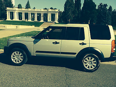 Land Rover : LR3 SE Sand Biege with tan interior, navigation, sunroof, 4X4
