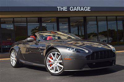 Aston Martin : Other 2dr Convertible Sportshift 12 aston martin vantage v 8 420 hp 700 w premium sound sport pkg parking sensors