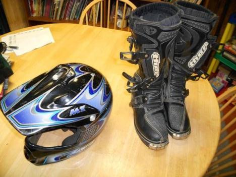 Boots motocross dirtbike Alpine and Thor brand
