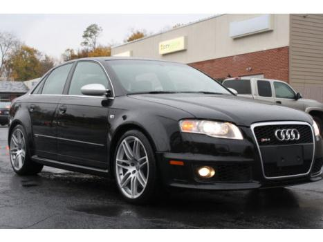 Audi : RS4 4dr Sdn 2008 audi rs 4 quattro awd 6 speed manual navigation 420 hp pa inspected rare car