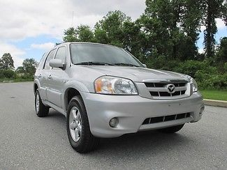 Mazda : Tribute S AWD 2006 silver tribute leather heated seats moonroof loaded alloys