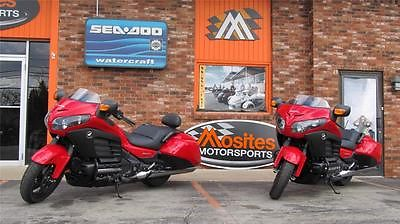 Honda : Gold Wing NEW Honda Goldwing F6B Standard and Deluxe in Red w/ ABS. Moving sale! MUST GO!