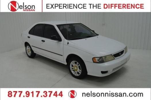 1998 Nissan Sentra 4D Sedan GXE