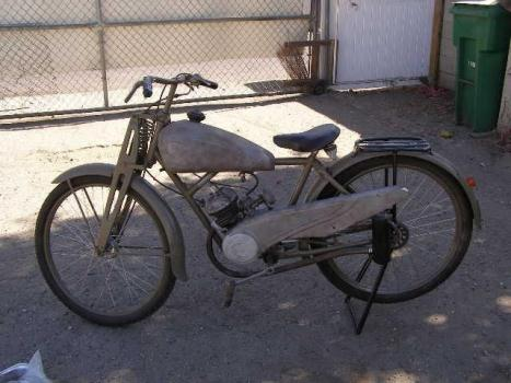 NSU German Army Motorcycle 1940 WWII