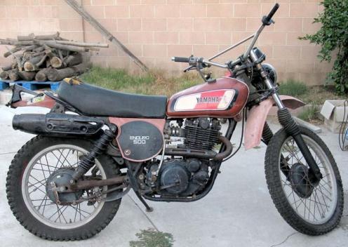 1978 YAMAHA 500 ENDURO