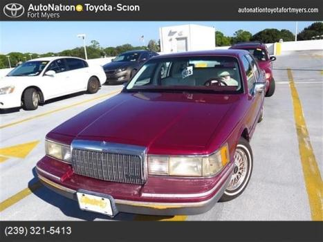 1993 Lincoln Town Cars For Sale