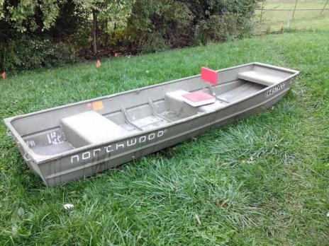 Northwood 12 ft. aluminum John boat
