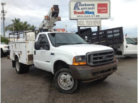 Ford F450 Telsta A28 33 Bucket Truck Cars for sale
