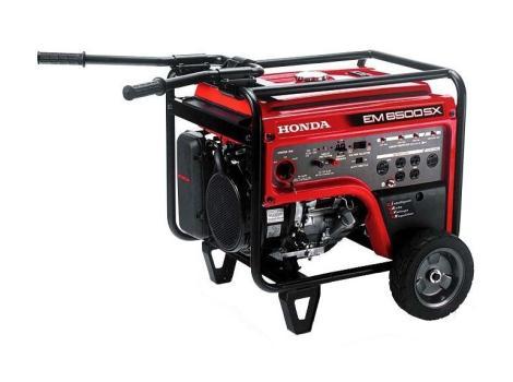 2012 Honda Power Equipment EM6500S2C