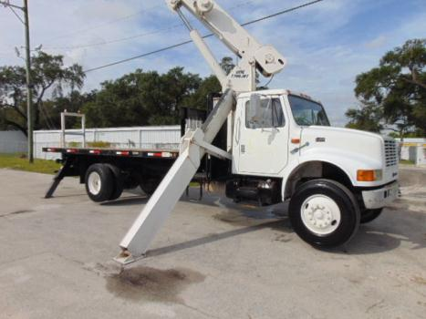 Other Makes WHOLESALE INTERNATIONAL 17 TON CRANE TRUCK  *USTC-1700*  20 FT FLATBED -