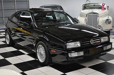 Volkswagen : Other SLC CORRADO SLC - PRISTINE CONDITION - BLACK/BLACK - HARD TO FIND!!!!!