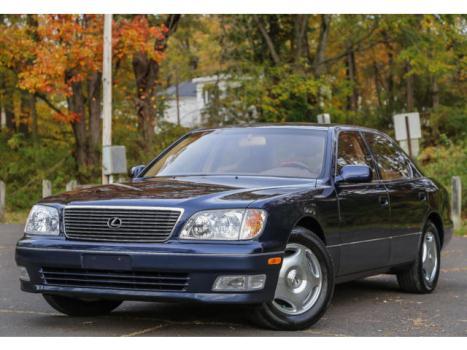 Lexus : LS 1 OWNER 2000 lexus ls 400 1 owner serviced super low 27 k miles carfax florida car