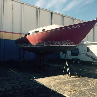 Big Sailboat with Motor- not running needs work