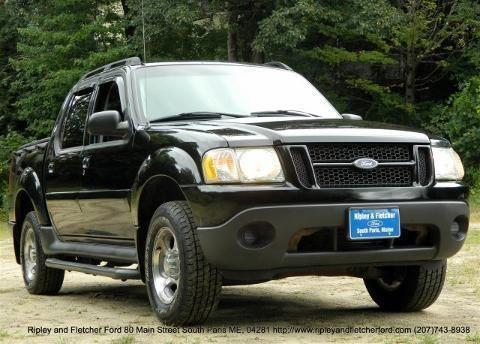 ford explorer sport trac maine cars for sale. Black Bedroom Furniture Sets. Home Design Ideas