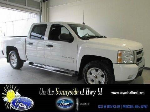 2011 CHEVROLET SILVERADO 1500 4 DOOR CREW CAB SHORT BED TRUCK