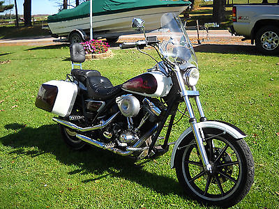 Harley-Davidson : FXR 84 harley davidson fxrt