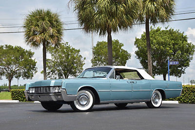 Lincoln : Continental 67 lincoln continental convertible lowest production year fully restored