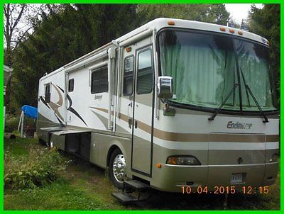 2004 Holiday Rambler Endeavor 40' Class A Motorhome 3 Slide Outs 2 A/C's OHIO