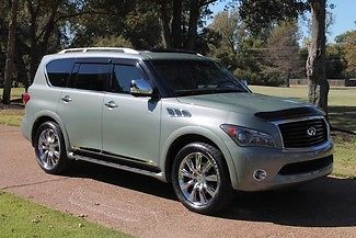 Infiniti : QX56 4WD 7-passenger One Owner Perfect Carfax Low Miles Theater Pkg 22