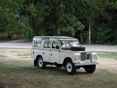 Land Rover : Other Safari 1978 land rover 109 safari rhd 12 seater very sound vehicle