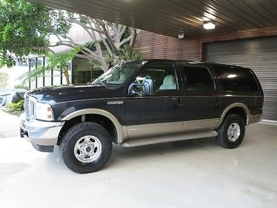 Ford : Excursion FreeShipping Excursion 7.3L Diesel 4X4 Limited 141K MILES EXCELLENT CONDITION SERVICE RECORDS