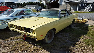 Dodge : Coronet R / T 1969 dodge coronet r t convertible