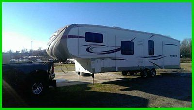 2014 Forest River Sierra 40' Fifth Wheel 4 Slides Awning King Bed Newer Tires TV