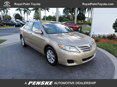 Toyota : Camry LE 2011 toyota camry le gold automatic florida