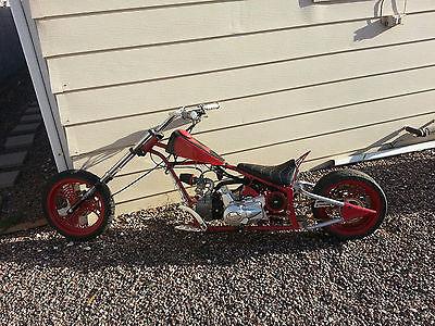 Custom Built Motorcycles : Chopper Black Widow Mini Chopper Replica (Paul Jr Design)