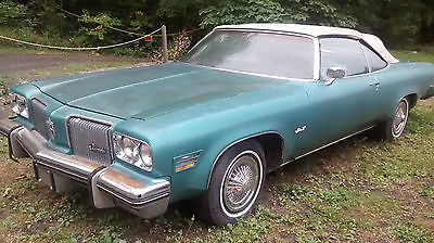 Oldsmobile : Eighty-Eight delta 88 1974 olds delta 88 royale convertible 455 rare collector car