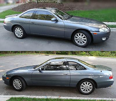 Lexus : SC 400 1993 lexus sc 400 coupe 2 door 4.0 l gray excellent condition drives great