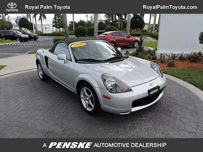 Toyota : MR2 2dr Convertible Manual 2000 Toyota Mr 2 Classic 1 Owner  Florida Car Non