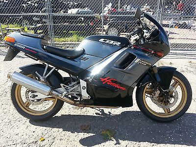 Honda : Other 1987 honda hurricane cbr 250 r h japanese 250 cc four cylinder import