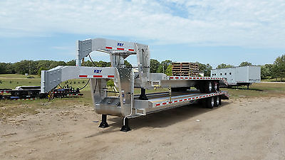 ALL ALUMINUM EBY GOOSENECK TRAILER,