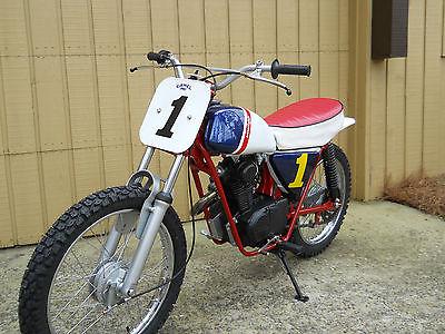 Honda : Other Honda 100 Bubba Shobert RS750  Flat track Cafe racer Vintage Dirtbike Honda 125
