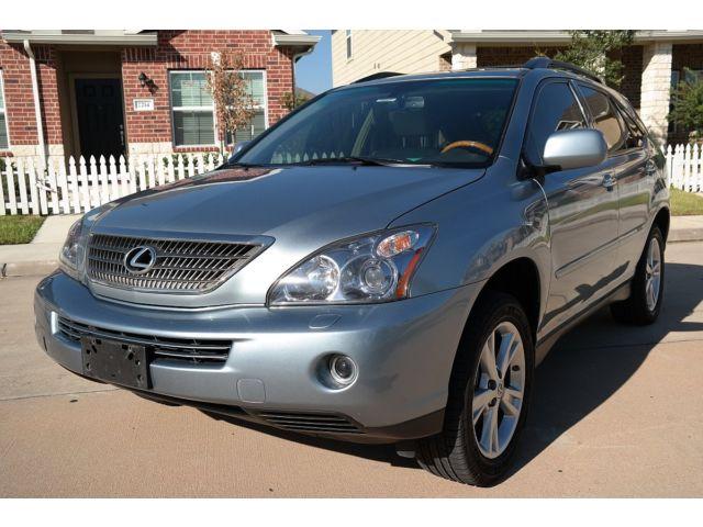 Lexus : RX HYBRID 2008 lexus rx 400 h navigation backup camera dealership serviced