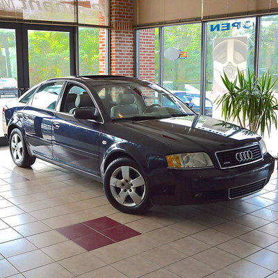 Audi : A6 3.0 Quattro Sedan ONE OWNER Quattro All Wheel Drive XENONS Bose Sound COLD WEATHER PACKAGE 50 Pics