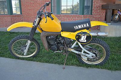Yamaha : YZ 1981 yamaha yz 465 dirtbike