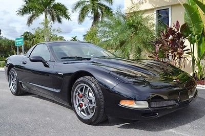Chevrolet : Corvette Z06 2001 chevrolet corvette z 06 florida coupe 44 k miles v 8 new tires 6 speed